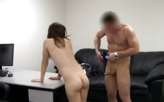 Sexy Kristin with hot body deeply fucked in ass hole