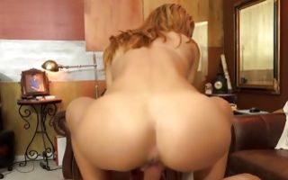 Sweet young girlfriend Averi Brooks deeply fucked in pussy