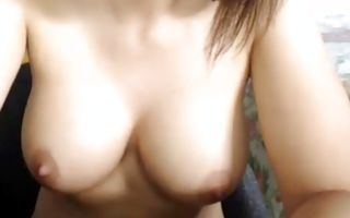 Watch my girlfriend with shaved pussy rubbing her clit in porn