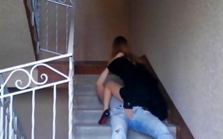 Brutal brunette girlfriend makes her bf lick her on his knees