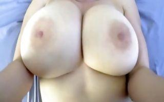 Slutty brunette girlfriend gets pussy banged reverse cowgirl