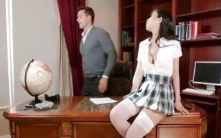 My GF with big boobs has deep sex after cocksucking